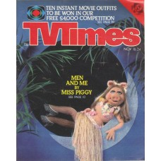 TVT 1978/47 - November 18-24, 1978 (ATV) THE MUPPET SHOW - with cover photo of photo of Miss Piggy.