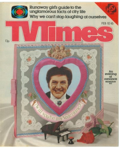 TVT 1979/07 - February 10-16, 1979 (ATV) [Abbreviated] LIBERACE'S VALENTINE NIGHT SPECIAL - with cover photo.