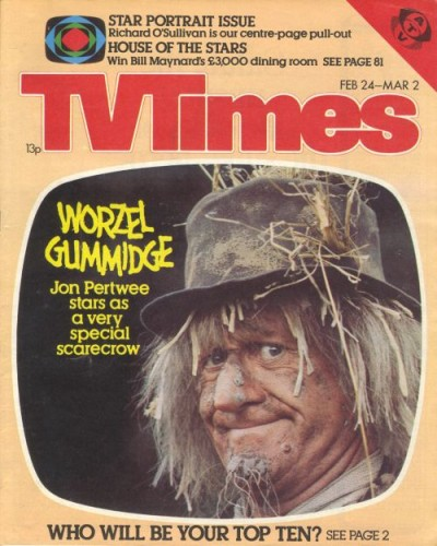 TVT 1979/09 - February 24-Mar 2, 1979 (ATV) WORZEL GUMMIDGE - with cover photo of Jon Pertwee.