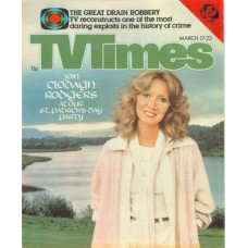 TVT 1979/12 - March 17-23, 1979 (ATV) [Abbreviated] STARS ACROSS THE WATER - with cover photo of Clodagh Rodgers.