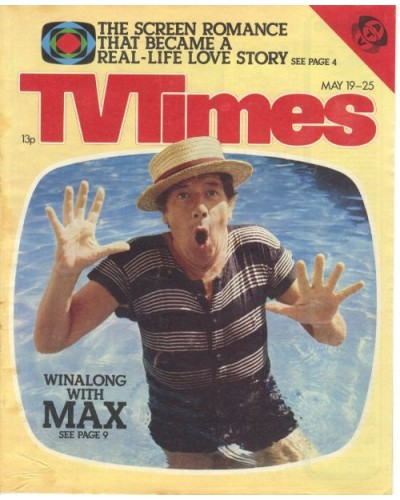 TVT 1979/21 - May 19-25, 1979 (ATV) [Abbreviated] LINGALONGAMAX - with cover photo of Max Bygraves.