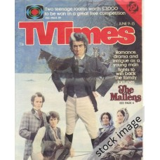 TVT 1979/24 - June 9-15, 1979 (London - Thames/LWT) THE MALLENS by Catherine Cookson - with cover photo of John Hallam and other cast members.