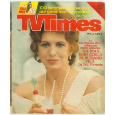 TVT 1980/23 - May 31-June 6, 1980 (Granada) CORONATION STREET - 2000th episode this week - with cover photo of Pat Phoenix.