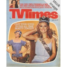 TVT 1980/35 - August 23-29, 1980 (Yorkshire) MISS UNITED KINGDOM - with cover photo of Carolyn Seaward.