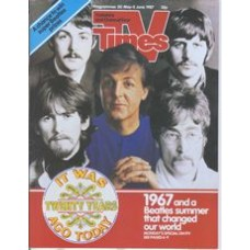 TVT 1987/23 - 30 May-5 June 1987 (Thames/LWT & C4) SGT PEPPER: IT WAS TWENTY YEARS AGO TODAY - The Beatles