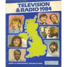 IBA Yearbook TELEVISION & RADIO 1984 Edited by Eric Croston.