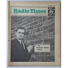 RT 2117 - June 4, 1964 (Jun 6-12) (London & South-East) THE GRAHAM STARK SHOW (BBC-1) with cover photo.