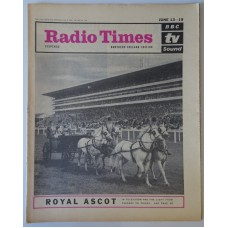 RT 2118 - June 11, 1964 (Jun 13-19) (Northern Ireland) ROYAL ASCOT (TV & Radio) with cover photo of horses and carriage
