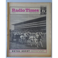 RT 2118 - June 11, 1964 (Jun 13-19) (London & South-East) ROYAL ASCOT (TV & Radio) with cover photo of horses and carriage