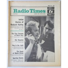 RT 2121 - Jul 2, 1964 (Jul 4-10) (London & South-East)  KIPLING A Bank Fraud - with cover photo of  Joss Ackland and Kenneth Fortescue