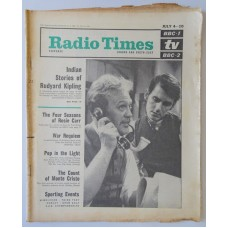 RT 2121 - July 2, 1964 (Jul 4-10) (London & South-East) KIPLING A Bank Fraud - with cover photo of  Joss Ackland and Kenneth Fortescue