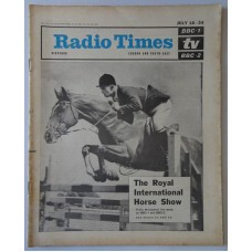 RT 2123 - July 16, 1964 (Jul 18-24) (London & South-East) [Incomplete] ROYAL INTERNATIONAL HORSE SHOW with cover photo.
