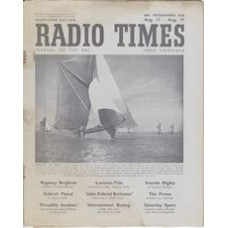 RT 1193 - August 9, 1946 (Aug 11-17) (Wales) CARGO BY SAIL (Home Service) with cover photo of a sailing barge
