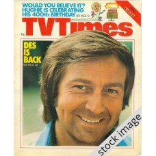 TVT 1976/09 - February 21-27, 1976 (London) DES O'CONNOR ENTERTAINS - with cover photo of Des O'Connor