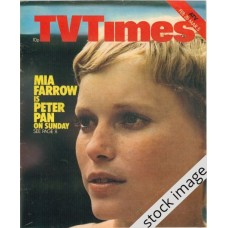 TVT 1976/10 - February 28 - Mar 5, 1976 (London) PETER PAN - with cover photo of Mia Farrow.