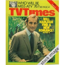 TVT 1976/11 - March 6-12, 1976 (London) HADLEIGH - with cover photo of Gerald Harper.
