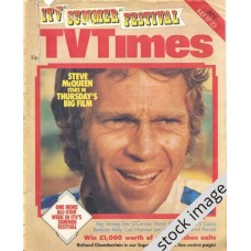 TVT 1976/30 - July 17-23, 1976 (London) NEVADA SMITH - with cover photo of Steve McQueen