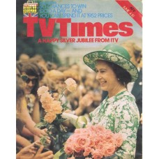 TVT 1977/23 - June 4-10, 1977 (ATV) A QUEEN IS CROWNED - The Queen's Silver Jubilee - with cover photo of Her Majesty.