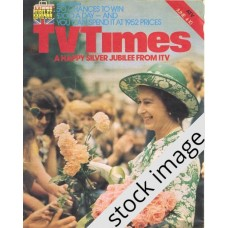 TVT 1977/23 - June 4-10, 1977 (London) A QUEEN IS CROWNED - The Queen's Silver Jubilee - with cover photo of Her Majesty.
