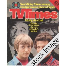 TVT 1977/41 - October 8-14, 1977 (London - Thames/LWT) FLIGHT TO HOLOCAUST - with cover photo of Christopher Mitchum and Patrick Wayne.
