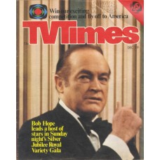 TVT 1977/49 - December 3-9, 1977 (ATV)  SILVER JUBILEE ROYAL VARIETY GALA - with cover photo of Bob Hope.