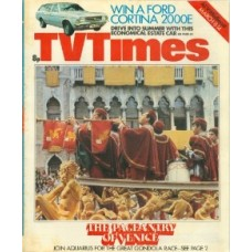 TVT 1975/11 - March 8-14, 1975 (London) AQUARIUS The Great Gondola Race - with cover photo: The Pagentry of Venice.