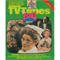 TVT 1975/37 - September 6-12, 1975 (London) UPSTAIRS, DOWNSTAIRS - with cover montage with Angela Baddeley in the centre.