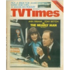 TVT 1975/45 - November 1-7, 1975 (London) THE NEARLY MAN - with cover photo of Ann Firbank and Tony Britton.