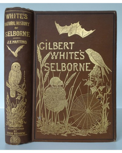 WHITE (Gilbert) THE NATURAL HISTORY AND ANTIQUITIES OF SELBORNE